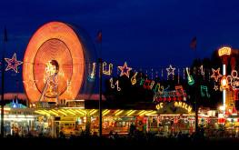 Il Luna park, per la gioia dei piccoli