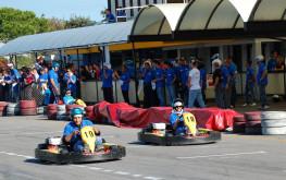 """La divertente """"Pista Azzurra"""" per gareggiare con GoKart e MiniMoto"""