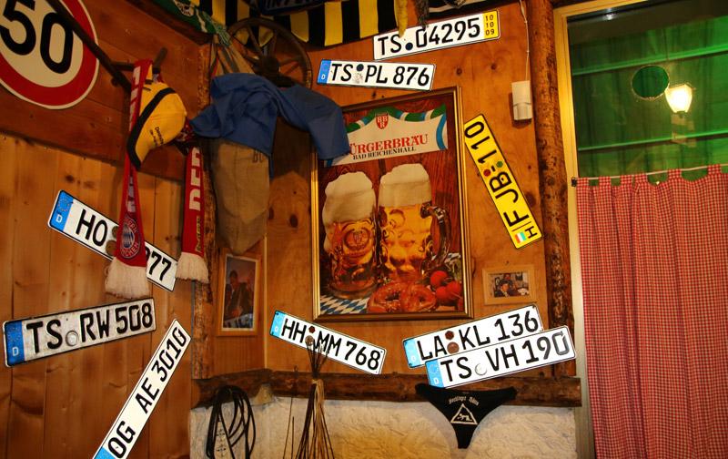 terrazza bavarese jesolo interno locale - altri souvenir