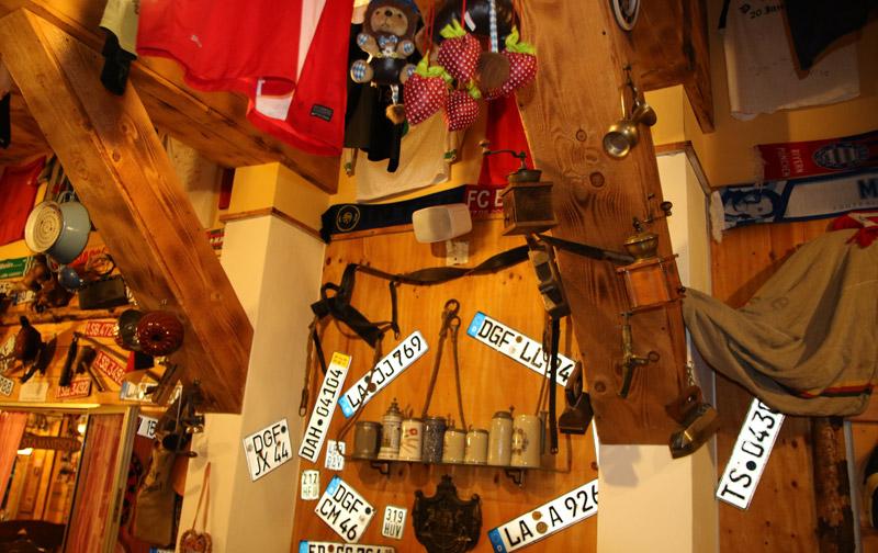 terrazza bavarese jesolo interno locale - souvenir dei clienti