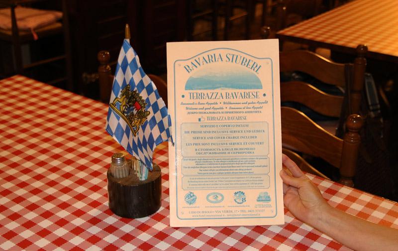 terrazza bavarese jesolo specialità
